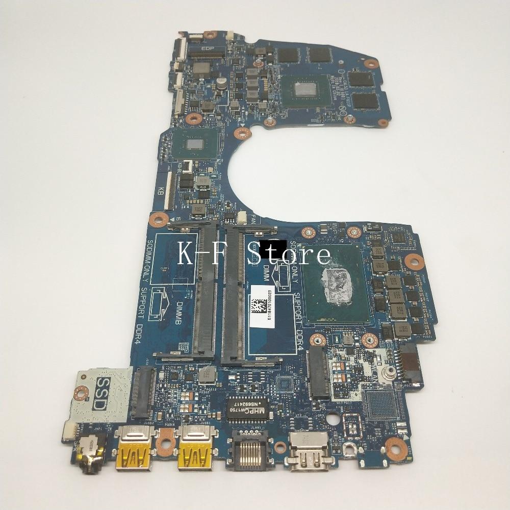 Материнская плата CAL53 LA-F611P DELL G3 CAL53 3579 материнская плата для ноутбука SR3YY i7-8750H