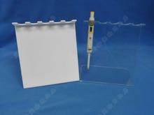 Pipette halter rahmen typ Z organischem glas material mehrkanalpipetten stativ typ Z pipette flüssigkeit gun rack
