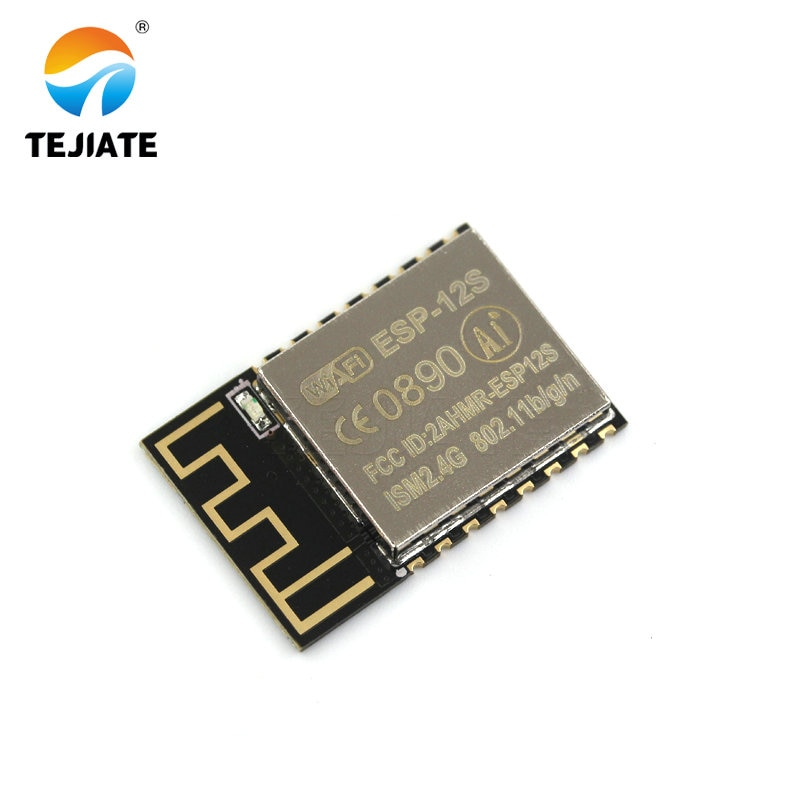 1PCS ESP-12S (ESP-12F upgrade) ESP8266 remote serial Port WIFI wireless module New version TEJIATE недорого