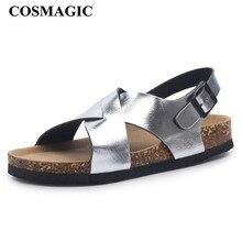 حذاء كوزميك 2020 الجديد من الفلين للشاطئ حذاء نسائي صيفي غير رسمي بإبزيم للخروج حذاء Sandalias غير قابل للانزلاق