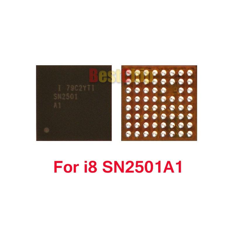 2 шт./лот 100% Новинка SN2501A1 SN2501 для iphone 8x8 plus зарядка usb зарядное устройство микросхема
