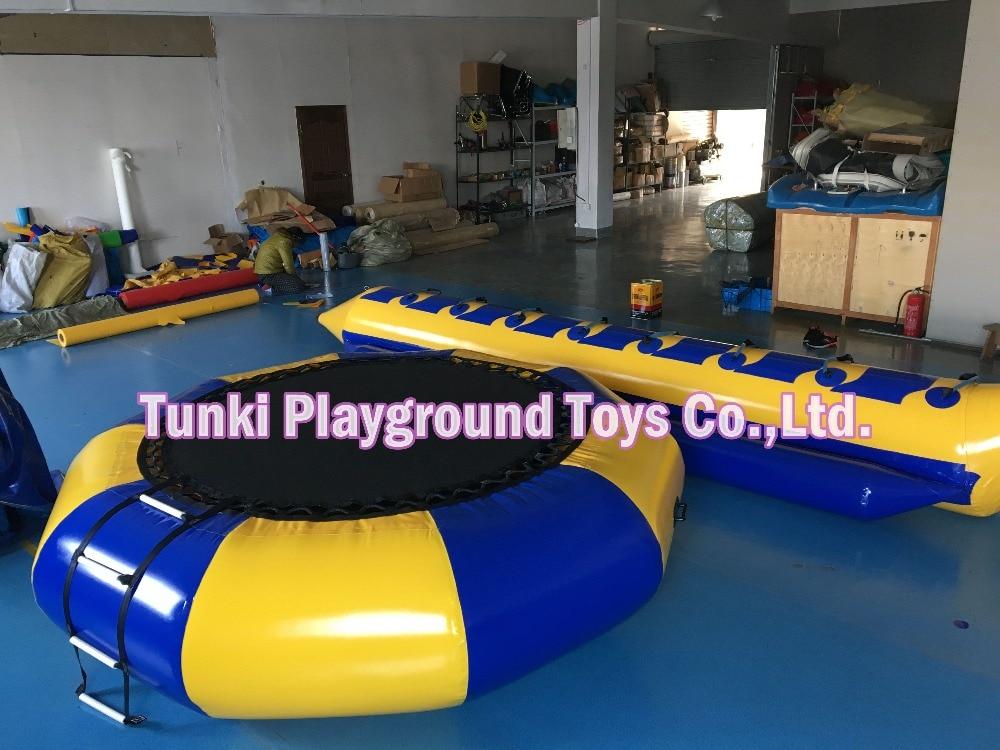 water park jumper trampolines water game