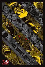 N1196 Ghostbusters Ghost Hunter Adventure Suspense Movie Wall Sticker Silk Fabric Poster Art Indoor Decor Bright