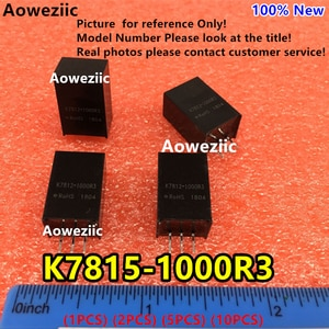 Aoweziic (1PCS) (2PCS) (5PCS) (10PCS) K7815-1000R3 Original SIP3 Input: 20V-36V Regulate Output: 12V 1A DC-DC Non-isolated Power