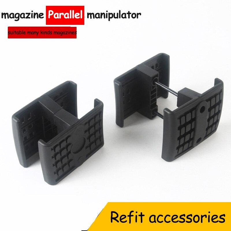 Jinming 8 generation le hui STD E M4 SCAR clip cartridge parallel device toys water bomb refit accessories Outdoor CS equipment