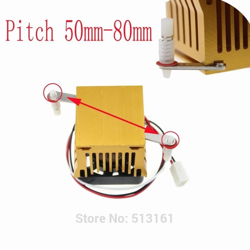 1 Piece/Lot Cooling Heat sinks Aluminum Cooler Heatsink DIY Northbridge Golden enlarge