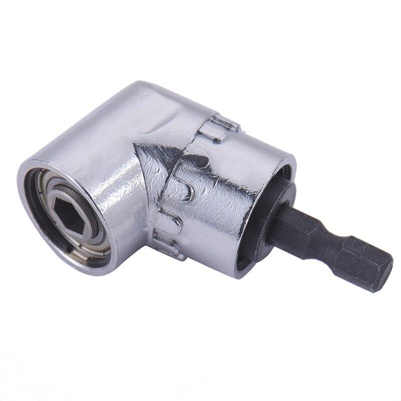 """Prático 1/4 """"105 graus hex shank ângulo direito cabeça chave de fenda para broca de energia ferramentas ferramentas ferramentas casa"""