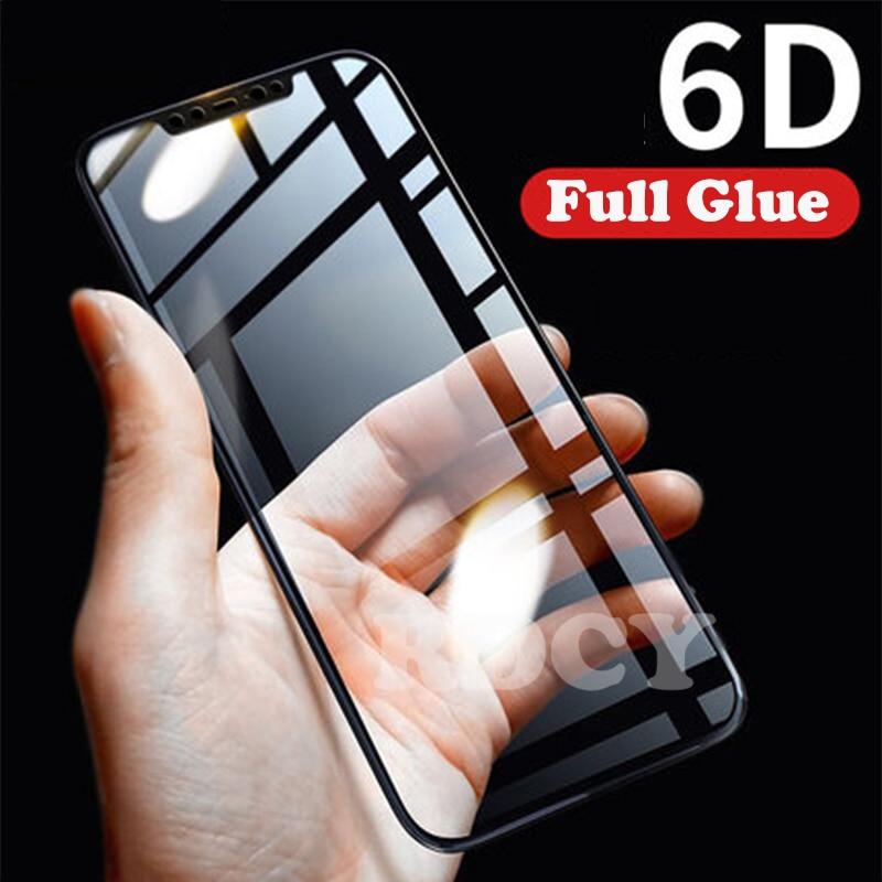 RDCY 6D полное покрытие закаленное стекло для Redmi Note 9s 9Pro POCO F1 X2 Mi 8 9 A2 Lite Mi 8 Lite Note 8T 8Pro Redmi K20 K30