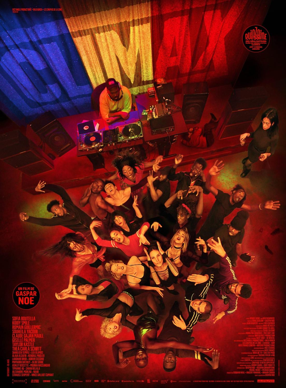 F-240 película Climax Gaspar Noe Sofia Boutella Poster arte impresión lienzo ligero decoración de pared 32x48 24x36 30x20 pulgadas
