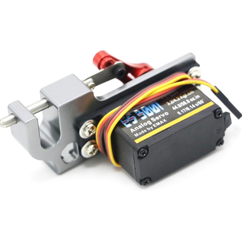 Servo Parabolischen Schalter Gerät Aerial Vehicle Werfen Gerät Tarot Spender Mit Servo Arm Für Fernbedienung Autos RC ES3001