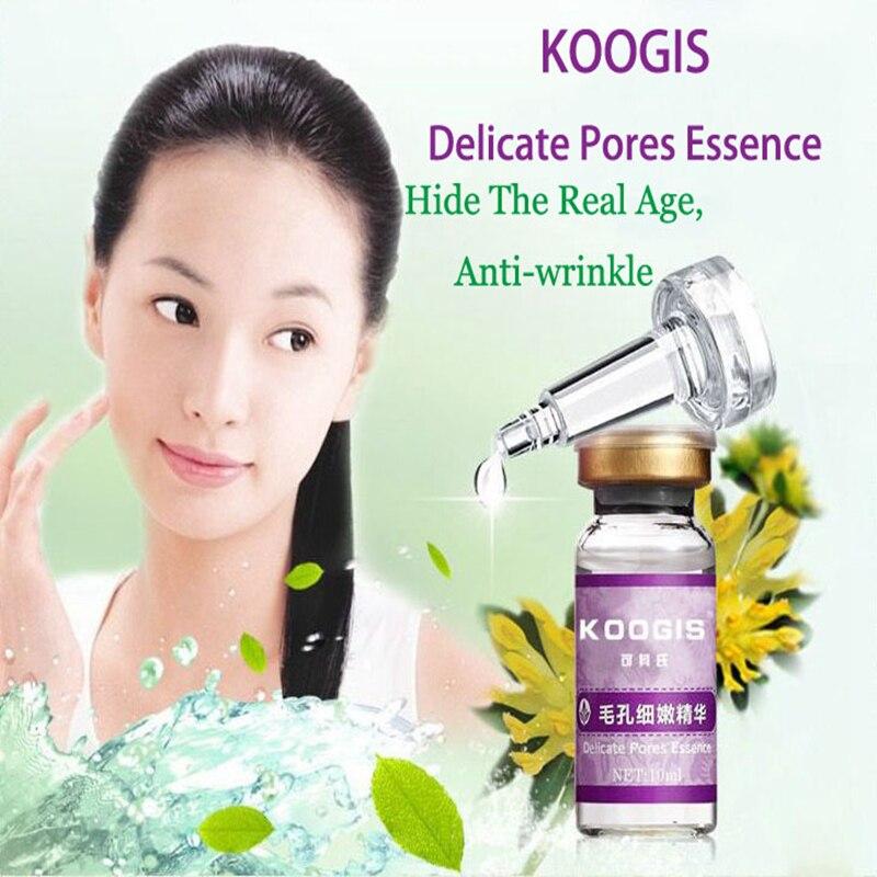 10ml 100% Koogis Delicate Pore Essence Oil Skin care Face Care Skin Acne Treatment Drop Shipping недорого