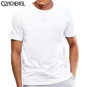 white tshirt Oversize short sleeves tshirt men 5xl large size solid color modal O-neck tshirt plus size casual top COYICHENOL