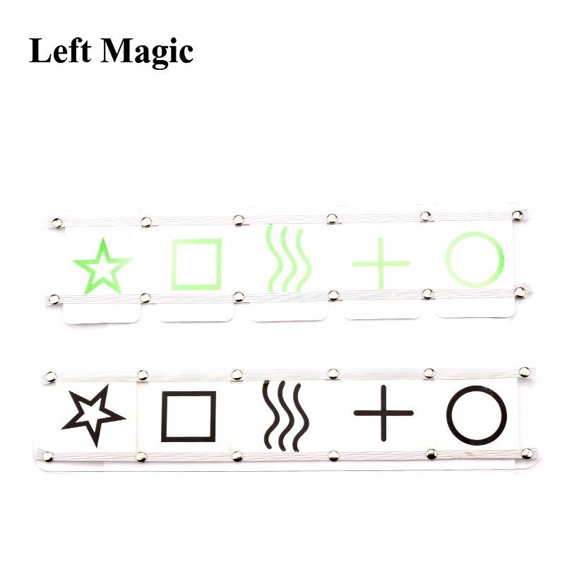 Astor Mental ESP truco de magia ESP tablero de partido tablero de predicción-etapa magia trucos herramienta metalismo accesorios G8233