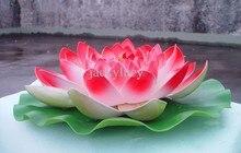 Fleur de Lotus artificielle grande taille   60 CM de diamètre, Simulation pour décoration de mariage, décoration de la maison (rose rouge violet Orange blanc)