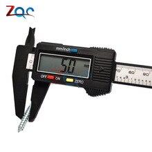 Электронный цифровой штангенциркуль 150 мм из нержавеющей стали Калибр микрометр 6 дюймов LCD Измерительная Линейка Инструмент 0-150 мм 6''