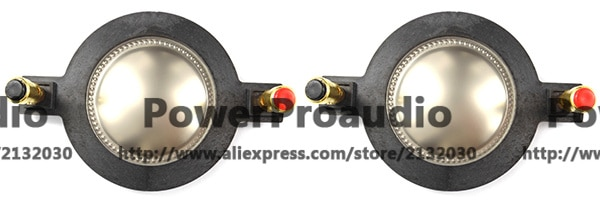2 PCS Diafragma para Behringer Eurolive B312D Altofalante do Chifre Driver 44T30D8