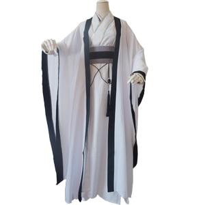 Gu jun branco traje masculino cosplay hanfu para anime o fundador do diabolismo antigo chinês masculino traje hanfu cos xieyang s. p. l.