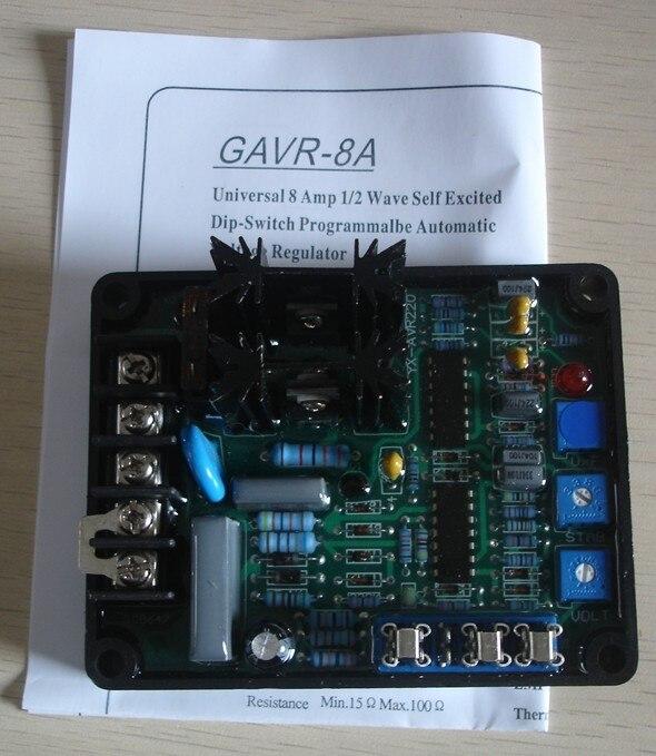 AVR-8A, AVR 8A für Bürstenlosen Generator (GAVR-8A)
