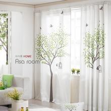 Красивые шторы готовая продукция штора 1,3*2,4 м, свежий стиль, натуральный хлопок и лен ткани, бежевый, утолщенный, красивый