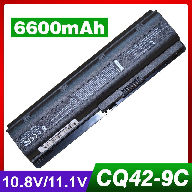 Laptop Battery for HP MU06 MU09 NBP6A174 for Compaq Presario CQ32 CQ42 CQ43 CQ56 CQ62 for Pavilion DV7 G6 G7 DM4 DV3 DV5 DV6 G4