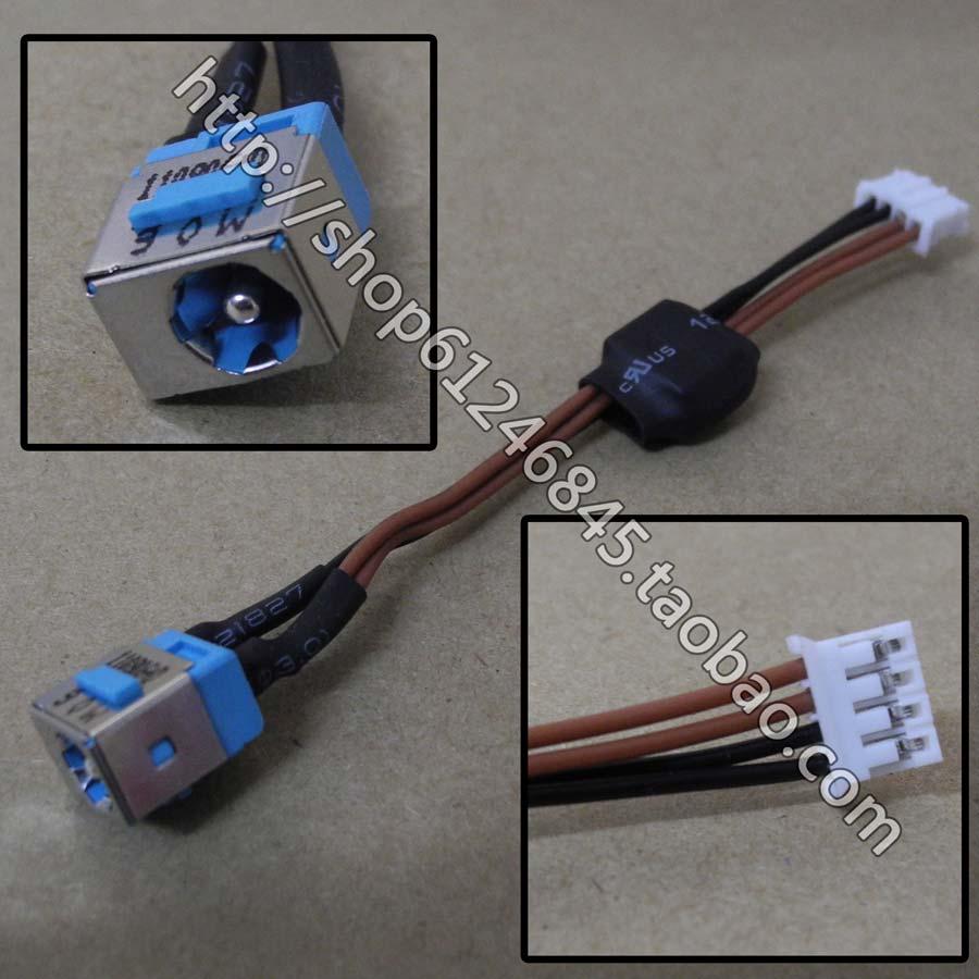 Nuevo conector de corriente continua WZSM con cable para Acer Aspire 7720...