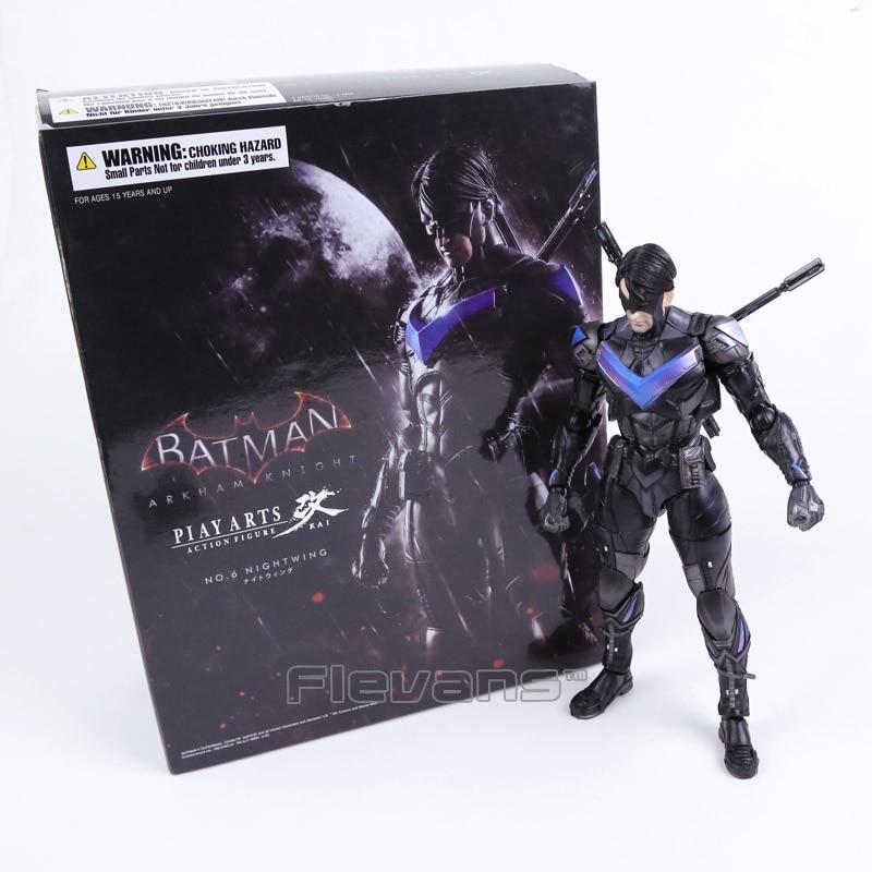 Play Arts KAI Batman Arkham Knight NO.6 NIGHTWING PVC Action Figure Collectible Model Toy