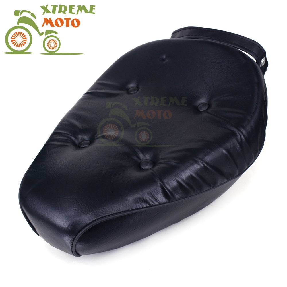 New Black Front Driver Seat Leather Cushion For Rebel CA250 CMX250 1986-2012 CMX250C 2003-2012 Motorcycle Free Shipping