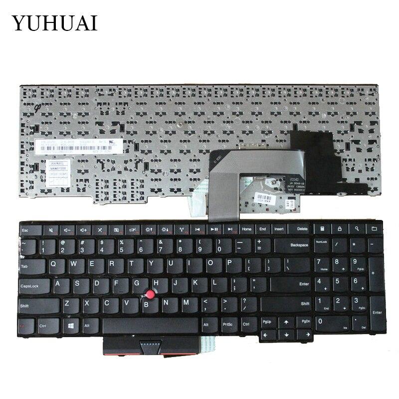 لوحة مفاتيح الولايات المتحدة الجديدة لينوفو ثينك باد Edge E530 E530C E535 04Y0301 0C01700 V132020AS3
