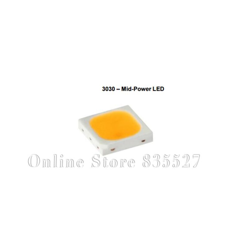 1000 قطعة/الوحدة 3030 6V بارد الأبيض SMD LED مصباح الخرز الخفيفة البعث ديود 90RA STW8C2SA STW9C2SA