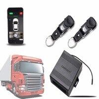 24V для грузовика без ключа Центральный замок/разблокировка android/ISO приложение дистанционное управление с автомобильной сигнализацией alarma ...