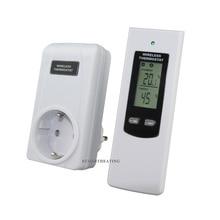 Draadloze Thermostaat RF Plug In LCD Remote Thermostaat voor Thuis Kamer Verwarming en Koeling Temperatuur Controller
