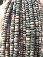 Vente en gros Amazonite-Labradorite-bois jaspe-picasso jaspe rondelle-agate perles abacus heishi perle 5x8mm pleine brin 16