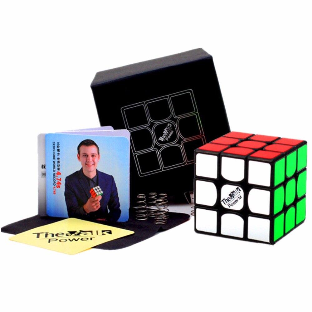 Cuberspeed Qiyi Valk 3 M, cubo magnético de velocidad 3x3 Valk3, juguete rompecabezas Power M