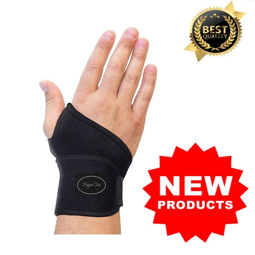 Muñeca soporte brazo Protector deportes Brace Correa 1 Pc pulsera de mano ajustable del túnel carpiano, mano izquierda, mano derecha