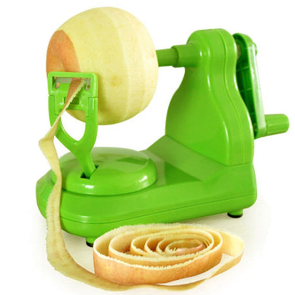 Nuevo pelador de fruta original, herramienta de cocina para el hogar, pelador de manzanas manual, máquina peladora