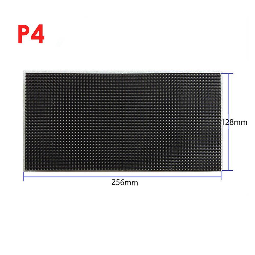 Самая низкая цена самый дешевый rgb модуль светодиодной матрицы p4 128 мм x 256 мм, фиксирующий Тип Аренда типа светодиодный дисплей модуль цена p3 p4 p5