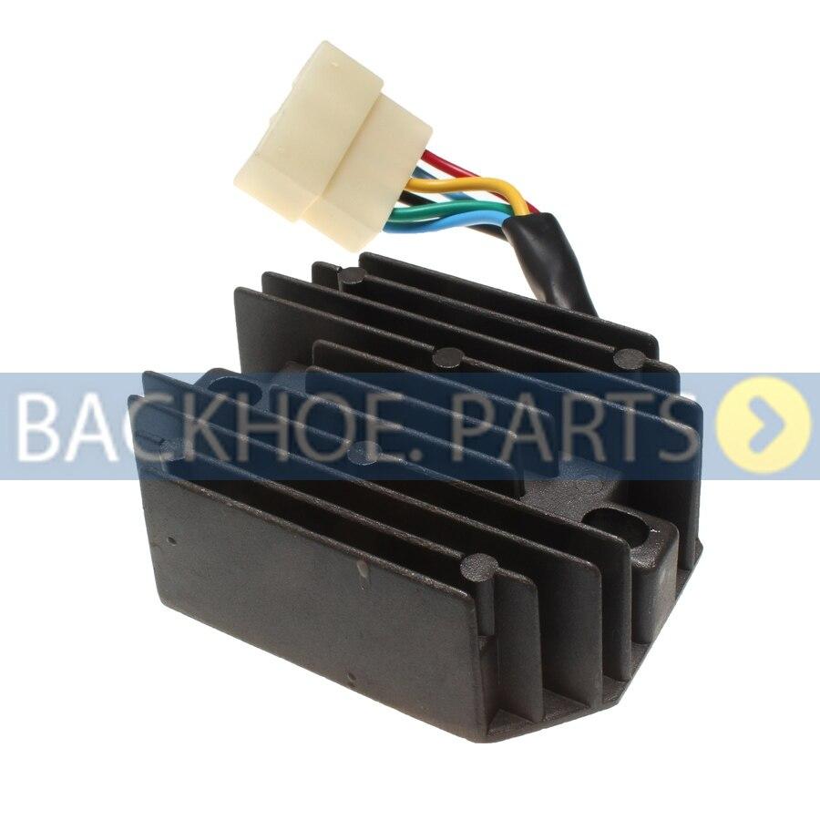 Regulador rectificador de voltaje 185516061 6 cables 12 V para serie Perkins 400