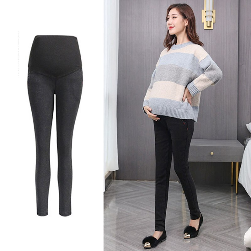 M-3XL Denim Maternity Jeans Pants For Pregnant Women Clothes Nursing Stretch Pregnancy Gravidas Clothing NEW