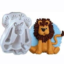 3D Lion girafe lapin éléphant forme animale Silicone forme Fondant gâteau moules cuisine Biscuit Cookie savon gâteau décoration outils