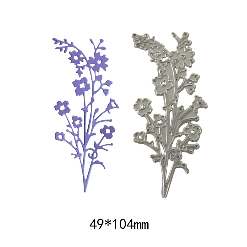 natural flower and leaves new cutting dies photo album scrapbooking dies metal Stencil Craft cut paper card Embossing