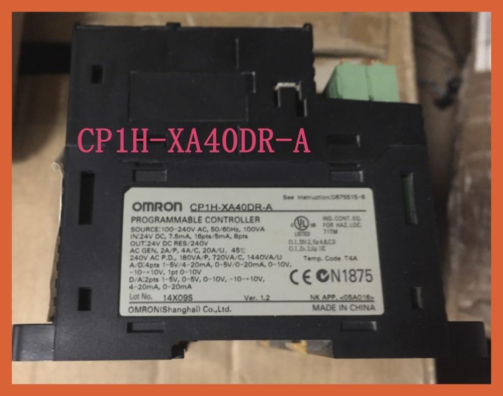 CP1H-XA40DR-A unidades de Nueva CPU originales con 40 puntos PLC Puerto USB integrado XA40DR