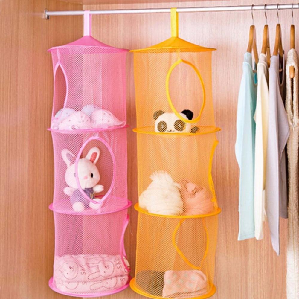 Полезный креативный подвесной шкаф для настенных дверей, органайзер для хранения, сетчатый органайзер, корзина для кухни, полка для ванной, ...