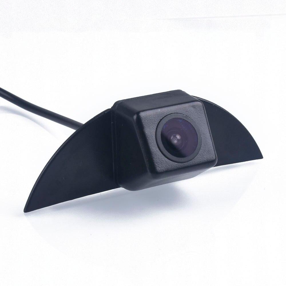CCD cámara de visión delantera para Nissan X-Trail Tiida Qashqai Geniss Pathfinder Pulsar Livina Fairlady cubo Armada frontera de Murano