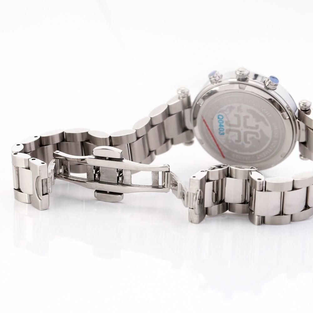 JULIUS Quartz Watch Ladies Bracelet Watches Relogio Feminino Erkek Kol Saati Dress Stainless Steel Alloy Silver Black Blue Pink enlarge