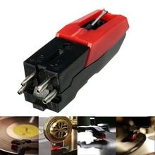 1pc tourne-disque stylet aiguille accessoire pour Lp vinyle lecteur phonographe Gramophone lecteur de disque stylet aiguille