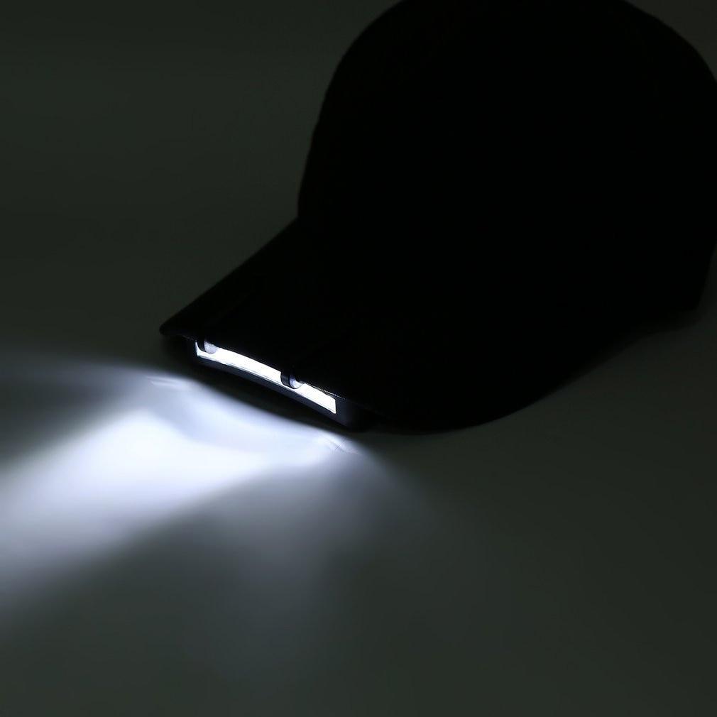 Супер яркий 11 светодиодный налобный фонарь на лампа на шапку кемпинга Ходьбы Работы бега рыбалки Прямая поставка