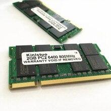 Nouvelle mémoire dédiée pour ordinateur portable 4 GB 2 GB 1 GB DDR2 800 PC2-6400 2G DDR2 800 MHz sodimm ram pour ordinateur portable compatible avec R60 T60 T61P X61