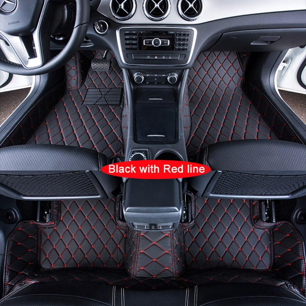 Funda para alfombrillas de coche para Toyota Zelas XV40 7th-gen XV50 alfombrillas personalizadas para Auto 3D alfombras