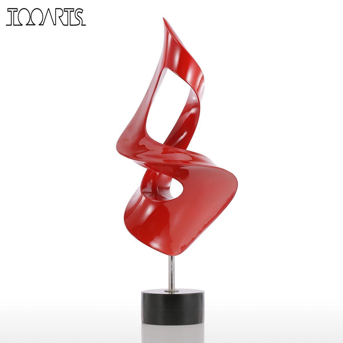 Tooarts Tomfeel Torch маленький размер Современная Скульптура абстрактная скульптура смола скульптура украшение дома аксессуары миниатюрный Декор