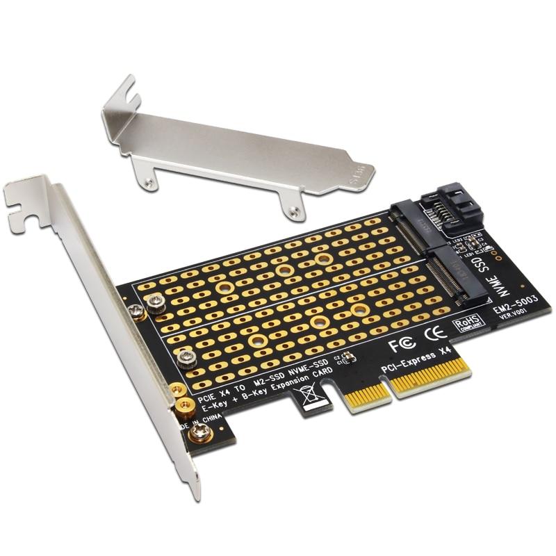 H1111Z добавить на карты PCIE в M2/M.2 адаптер SATA M.2 SSD PCIE адаптер NVME/M2 PCIE адаптер SSD M2 на SATA PCI-E карта M ключ + B Ключ